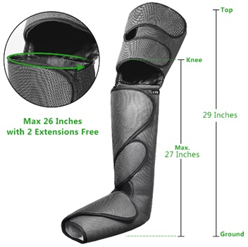 FIT KING Leg Air Massager with Remote